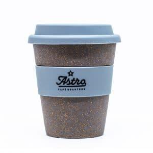 Astro Cafe, vaso eco de cascara de café